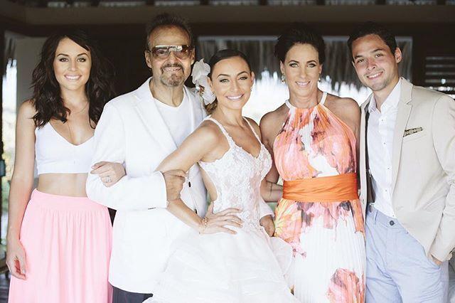 Fiesta en familia: Marimar Vega nos comparte algunos de los mejores momentos de su boda con Luis Ernesto Franco. | Foto: cortesía @marimarvega