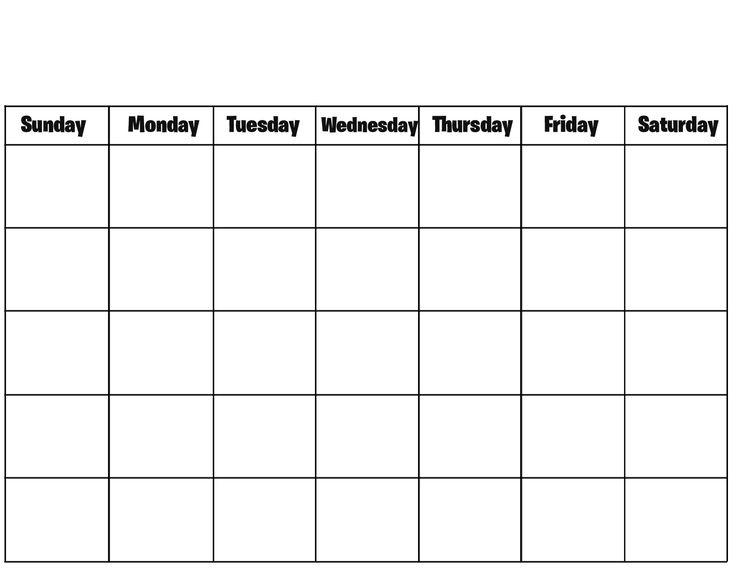 blank calendar september 2016