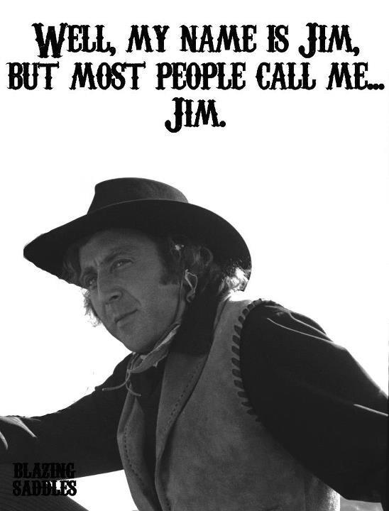 Blazing Saddles Gene Wilder - brilliant actor.