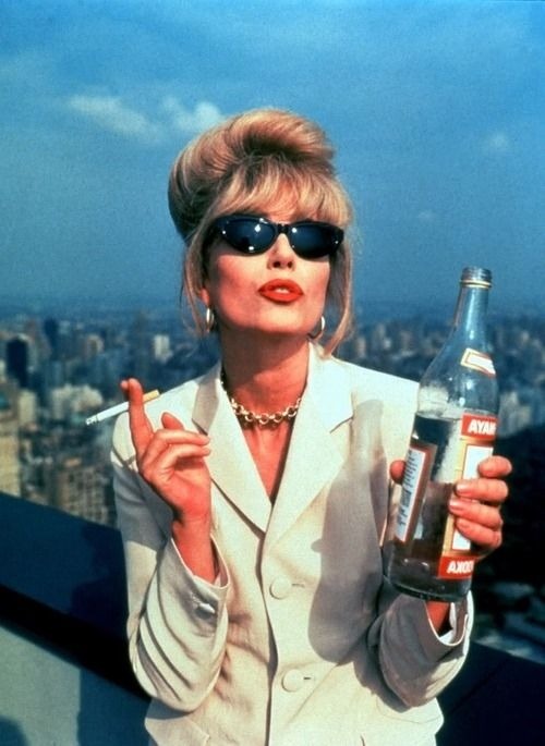 "21 Signs Patsy Stone From ""Absolutely Fabulous"" Is Your Spirit Animal"
