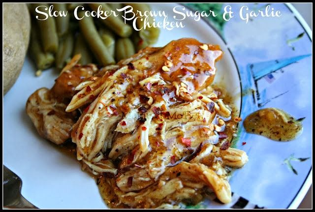 Makin' it Mo' Betta: Slow Cooker Garlic & Brown Sugar Chicken