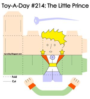 {Toy A Day) A toy to download, print and make together every day.