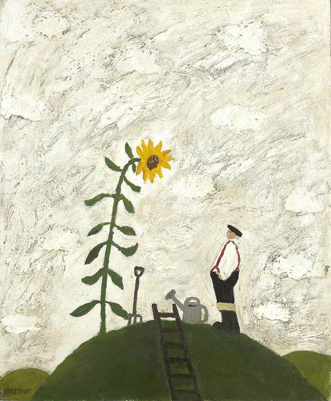 gary bunt(1957- ), the secret garden. oil on canvas, 24 x 20 ins. portland gallery, london, uk http://www.portlandgallery.com/artist/Gary_Bunt/item/archive/22605/The_Secret_Garden