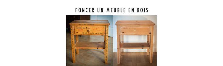 Poncer un meuble n'est pas toujours simple mais c'est une étape inévitable dans la restauration d'un meuble en bois....plusieurs techniques de ponçage...