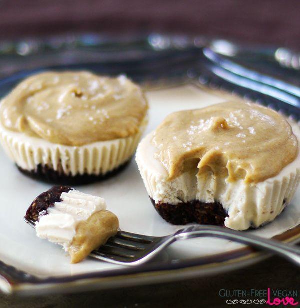 Raw Vegan Caramel Cheesecake {Gluten-Free, Paleo, Refined Sugar-Free}