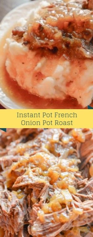Instant Pot French Onion Pot Roast  Let me narrate you guys i'm an not a hug…