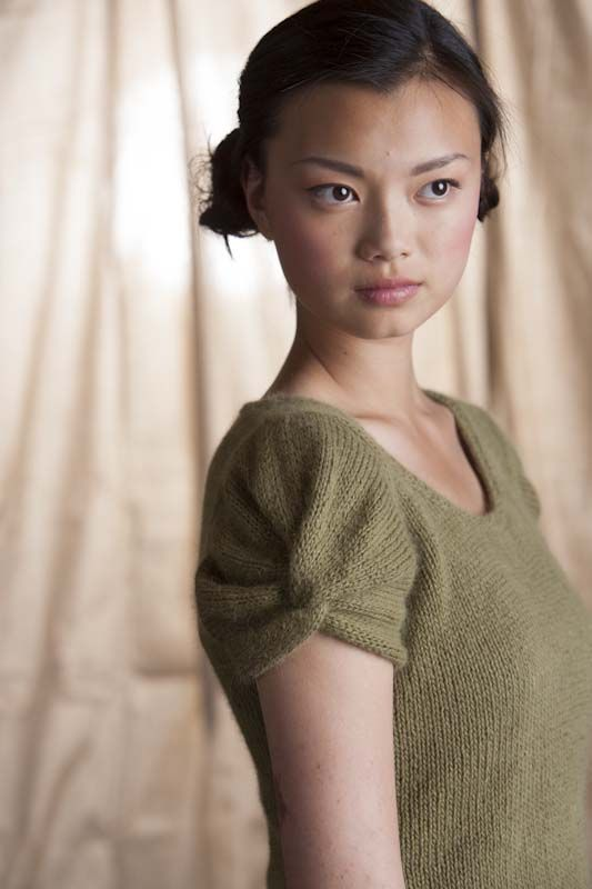 Tulip Sleeve Pullover - Knitting Daily