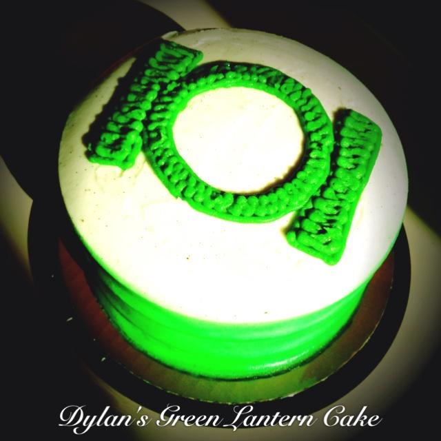 My sons Green Lantern cake  birthday  Pinterest