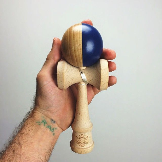 1/1 Navy X Natty Vertical Split by Dogtown Kendama  #rad