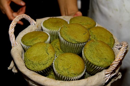 Panecillos de té verde/ Ruta de la Seda