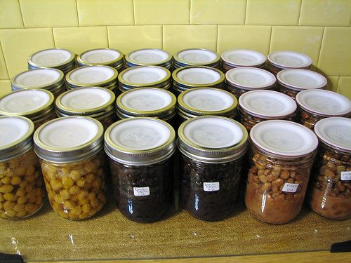 Canning Dry Beans
