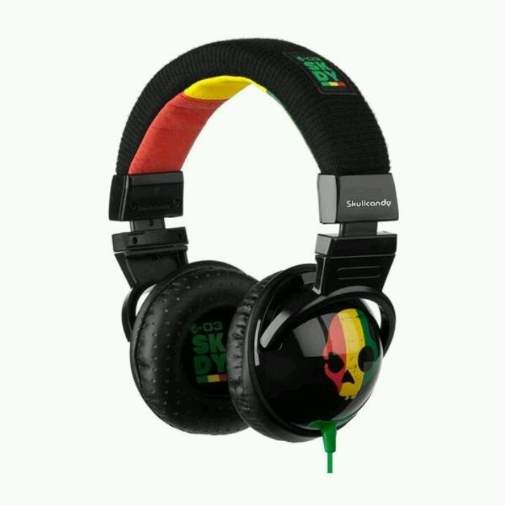 The limited bob marley edition skullcandy