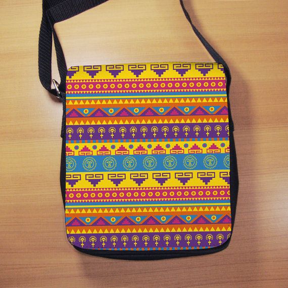Aztec Pattern Print Shoulder Bag  Small Shoulder by RegalosOnline
