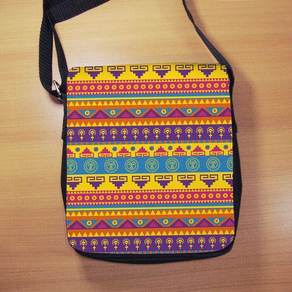 Aztec Pattern Print Shoulder Bag  Small Shoulder by RegalosOnline