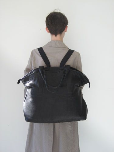 Leather Bag/Backpack by Assembly New York