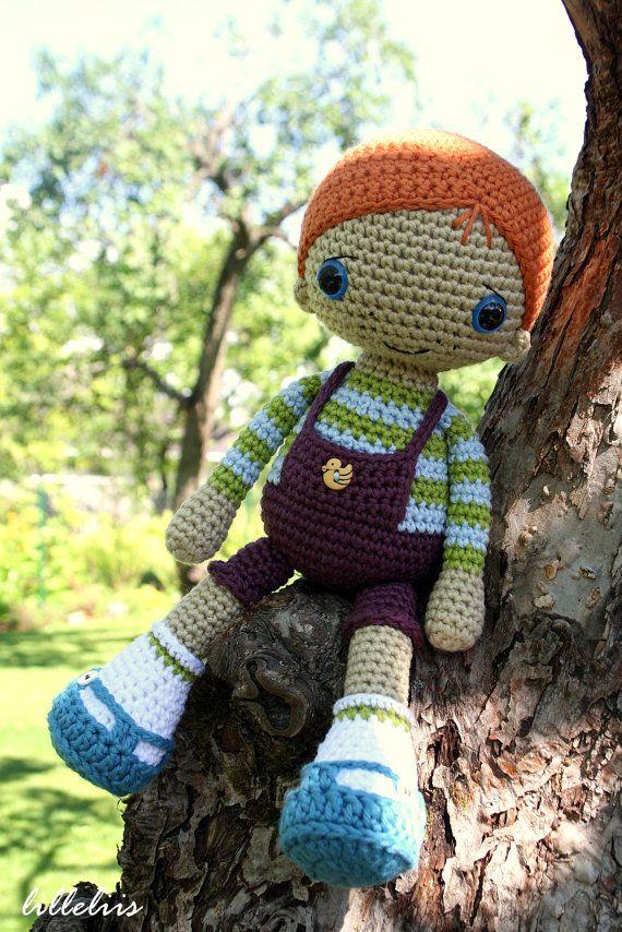 PATTERN - Rudy the Redhead (amigurumi, crochet) pattern for purchase