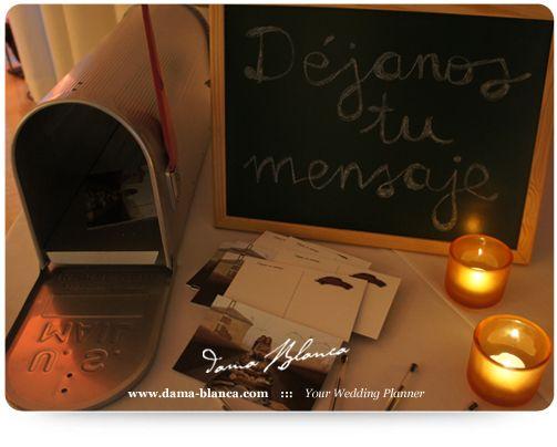 Un libro de firmas original el día de tu boda  #boda #ideas