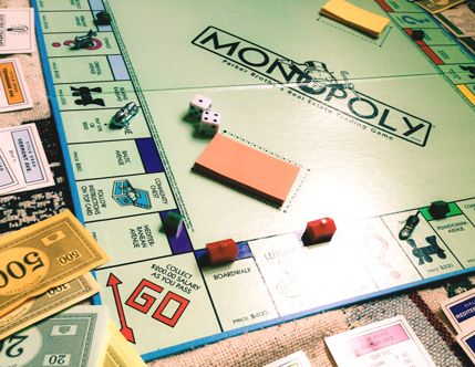 Monopoly, THE classic board game for a lazy sunday afternoon