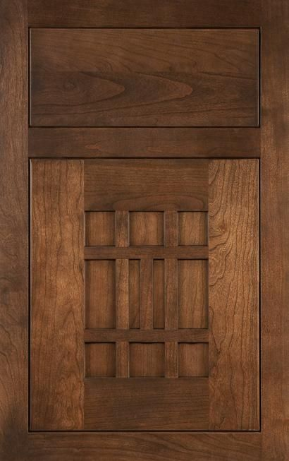 Medallion cabinets -Trinity in Cherry with an Eagle Rock finish from waybuild & 59 best Medallion Cabinetry images on Pinterest | Kitchen cabinets ... pezcame.com