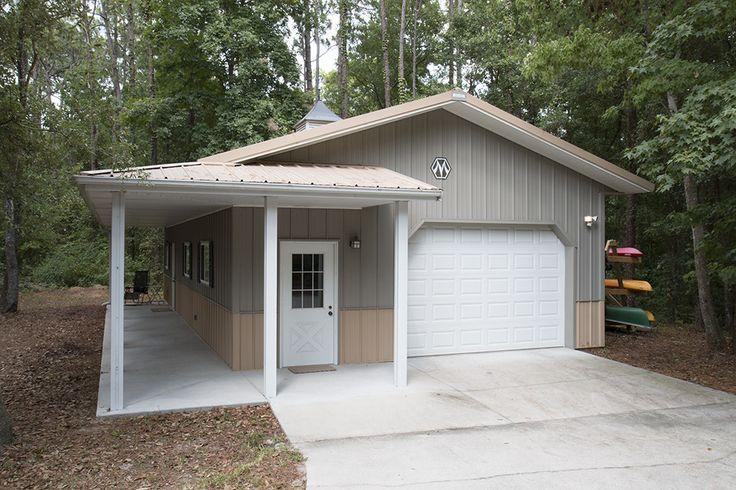 Attached Pole Barn Garage