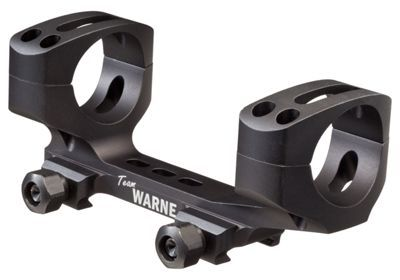 Warne Skeletonized AR Scope Mount - 30mm
