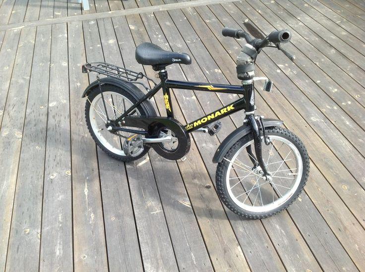 Pojkcykel Monark 16 tum -