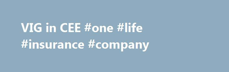 VIG in CEE #one #life #insurance #company http://jamaica.remmont.com/vig-in-cee-one-life-insurance-company/  # VIG in CEE The Albanian company Sigma was established in 1998 in Tirana. Besides its operations in Albania, it also operates through a branch office in Kosovo. Moreover, in 2010 VIG acquired Interalbanian and has become the new majority shareholder of Intersig in 2011. The two companies Sigma and Interalbanien were merged to Sigma Interalbanian in 2014. Sigma Interalbanian Sigma…