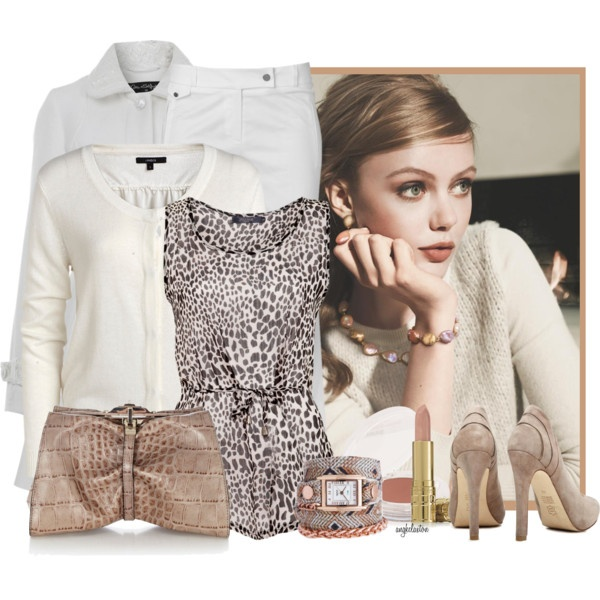 """""""Winter Whiter Coat Contest #3"""" by angkclaxton on Polyvore"""