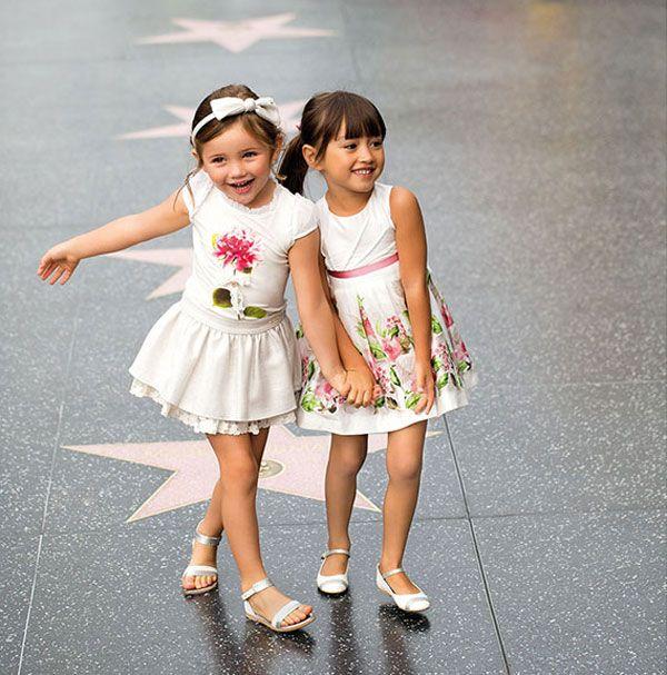 La moda infantil de Mayoral, primavera verano 2014