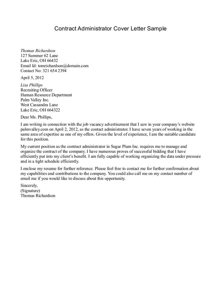 Covering Letter Samples Template 2best Resume Format