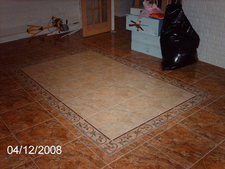 Instalacin de Diseo en piso cermica  Pisos