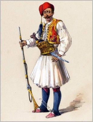 Ottoman empire clothes. Albania national costumes. Military Costume ideas.