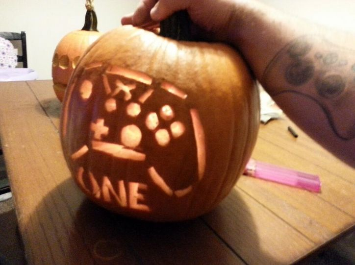 Looking for pumpkin carving inspiration this xbox one