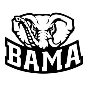Crafting with Meek: Alabama Logo SVG