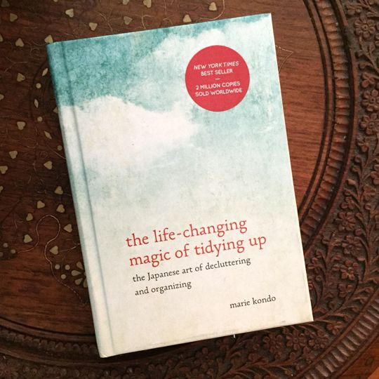 the life - changing magic of tidying up the Japanese art of decluttering and organinizing— Life in the Kitchen