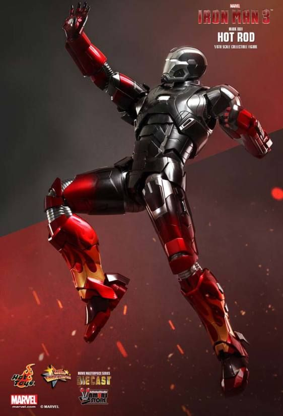 Hot Toys Diecast Iron Man Mark XXII Hot Rod - Vamers Store