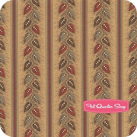 Old Cambridge Pike Red on TanWayside Yardage <br/>SKU# 8326-16