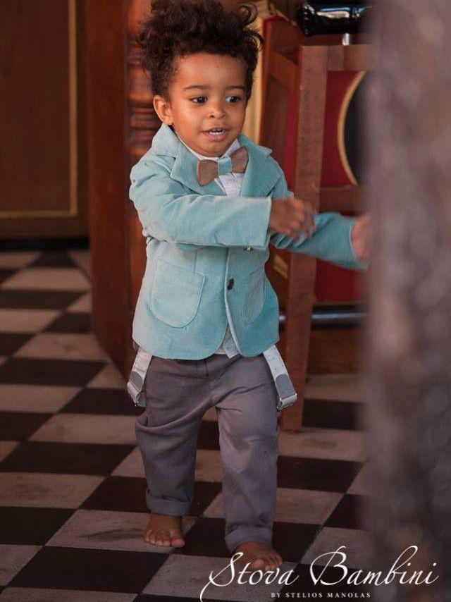 Τρελαινόμαστε με το απιστευτο κουστούμι!! www.angelscouture.gr shop online βαπτιστικα!!