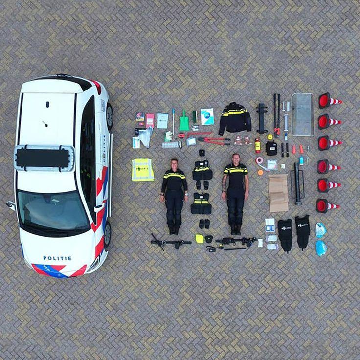 What's inside a Dutch police car... Police cars, Police