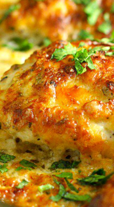 Smothered Cheesy Sour Cream Chicken Recipe Recipes Pinterest