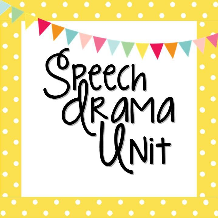 Speech unit that has students doing vocal warm-ups, speeches, radio play and reader's theatre!  Everything you need to teach today!