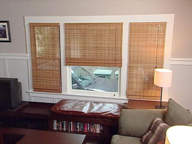 27 best window treatments for craftsman homes images on - Long or short curtains in living room ...