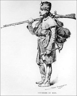 French Canadian fur trader