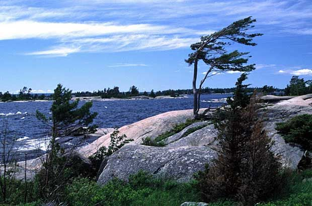The Muskoka region and Georgian Bay served as inspiration to the Group of Seven painters. Today, the area is a playground for more than two million visitors a year.