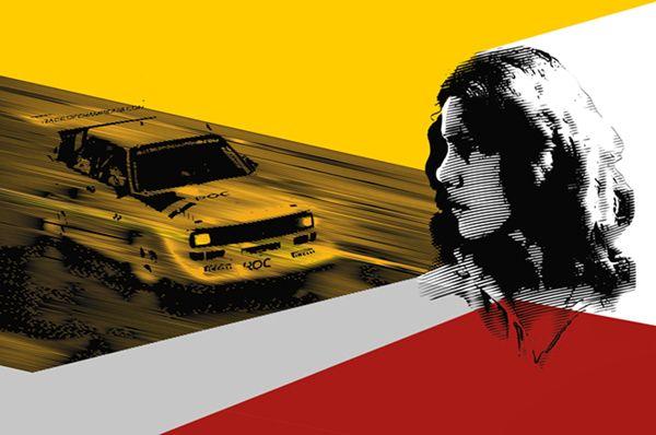 A tribute to Michèle Mouton by Yannis Aggelakos, via Behance