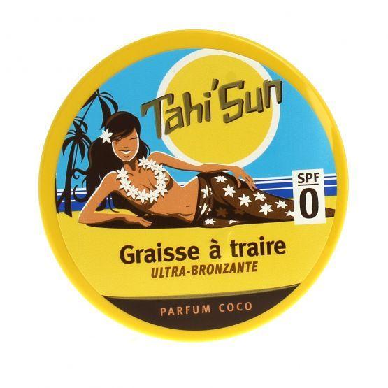 Graisse à Traire Ultra Bronzante SPF 0 Parfum Coco Tahi'Sun
