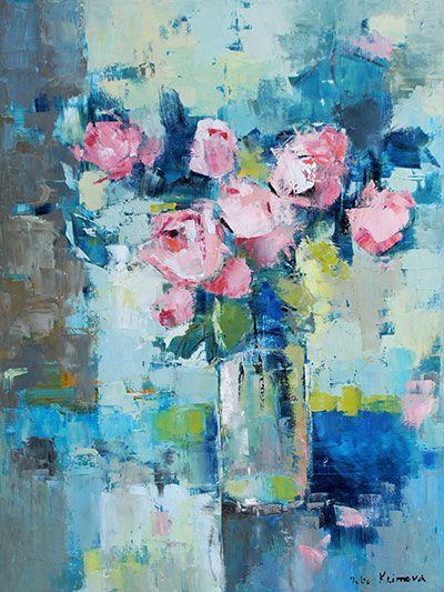 5674 Best Flower Art Images On Pinterest Art Flowers Flower Art And Oil Paintings
