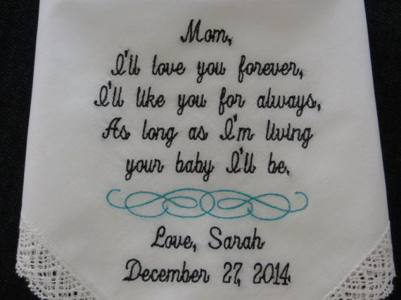 Stylish Lacy Wedding Handkerchief for your  by elegantmonogramming, $25.00