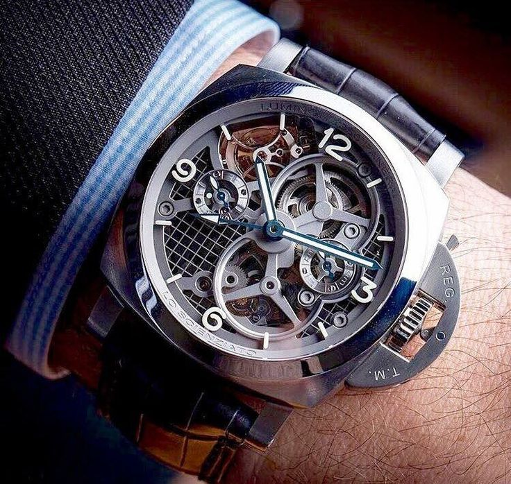 Panerai Skeleton www.gentlemans-essentials.com - mens watches, mens watches for sale online, mens dress watches leather band