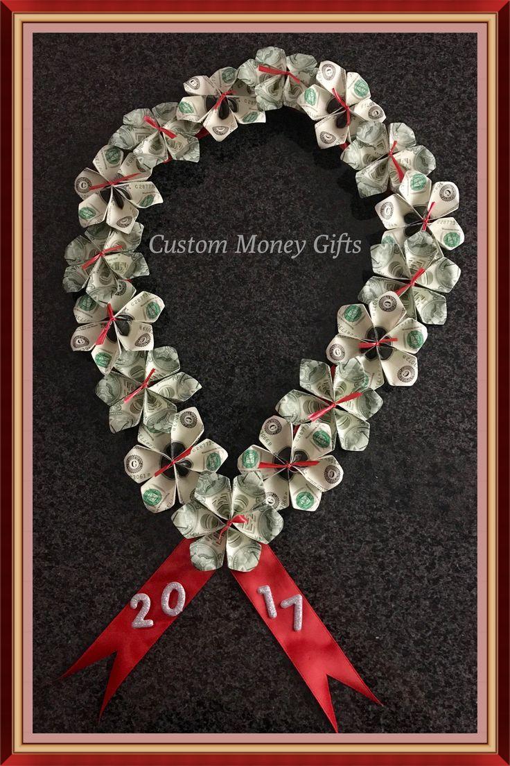 Geld-Lei von #custommoneygifts. Diese einzigartige…